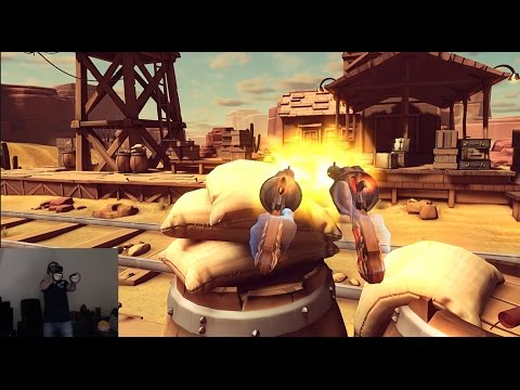 Oculus Rift  Dead and Buried Live gameplay