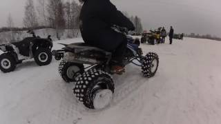 обзор Yamaha Grizzly 700  Part 1  DanY Median