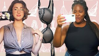 Women With Big Boobs Go Braless For A Week