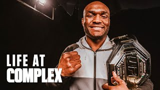 UFC Kamaru Usman Shares Funny Stories About His High School & College Days! | #LIFEATCOMPLEX