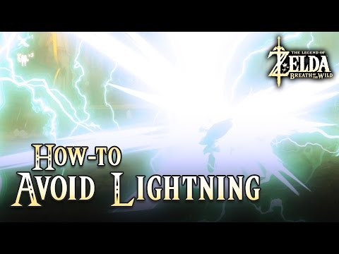 Quick Tip: Avoid Lightning during a Thunderstorm Legend of Zelda Breath of the Wild