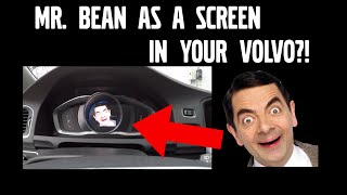 Mr. Bean as a screen in your Volvo?! - Change picture with VDASH - D5T5.com