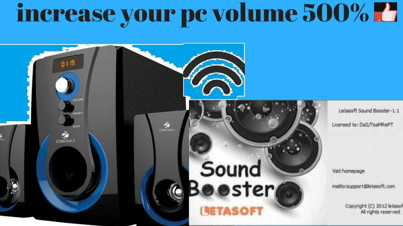 free sound booster for windows xp