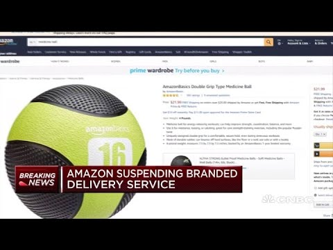 Amazon Suspending Its Branded Delivery Service