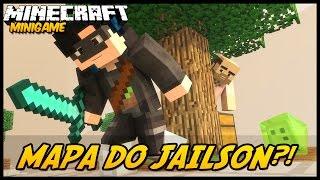 Minecraft: Mapa do Jailson! - Sky Wars