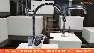 TDM.VN | Review vòi rửa chén nóng lạnh Inax SFV-2011S (SFV2011S) gắn chậu inox giá tốt