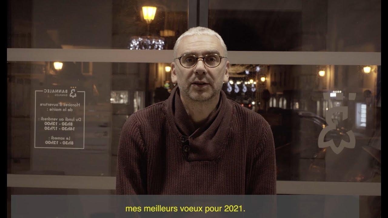 Voeux du maire de Bannalec 2021