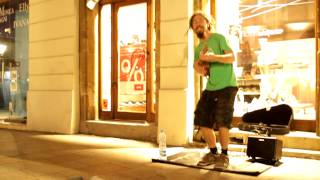 Rocky Leon - I Sold My Soul (Busking in Krakow, PL)