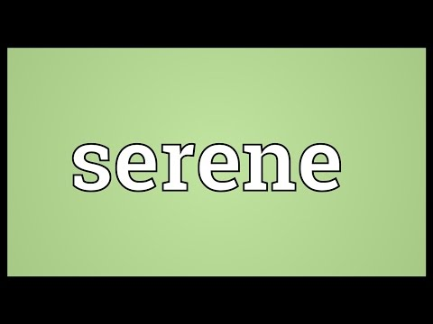 serene-meaning