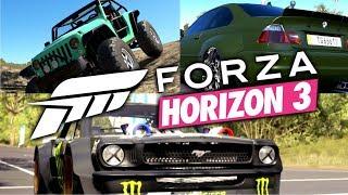 Forza Horizon 3 / დრიფტი, ოფროუდი და მთაზე გადახტომა