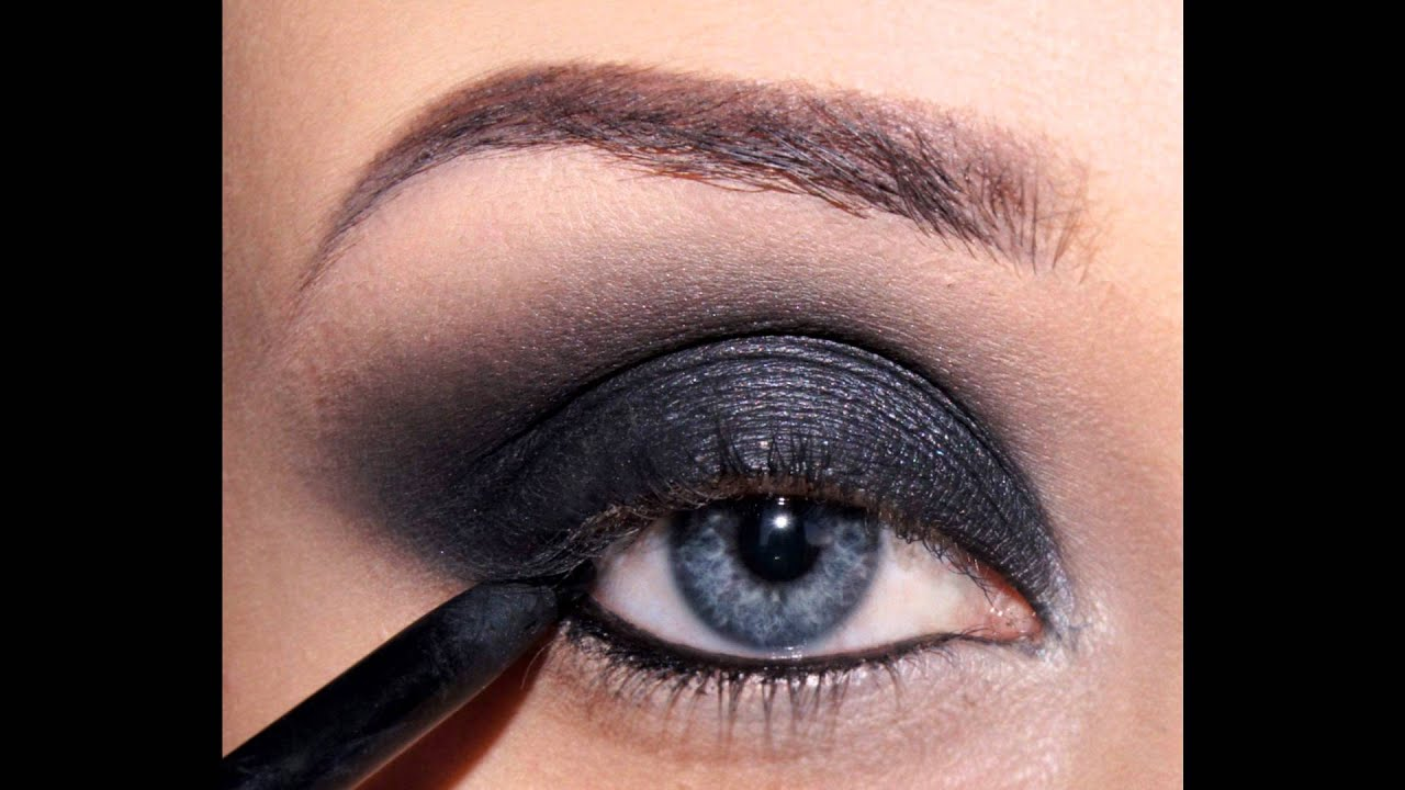 Как сделать макияж дымчатый видео фото 183