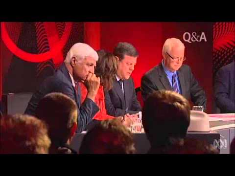 QandA Qld Young LNP President Ben Riley asks Ged Kearney if ACTU will run campaigns against ALP