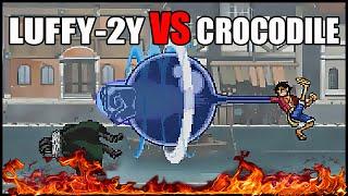 Fairy Tail Vs One Piece 1.0 - Luffy-2Y VS Crocodile - Game Play - 2016 - HD