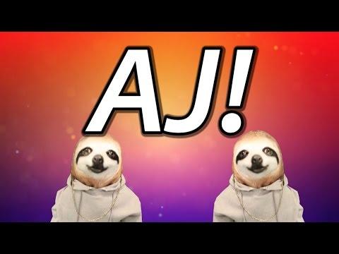HAPPY BIRTHDAY AJ! - SLOTH HAPPY BIRTHDAY RAP