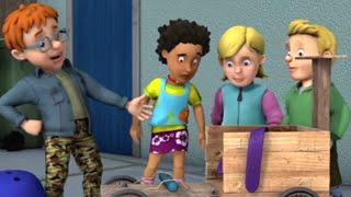 Sam il Pompiere Italiano ❄️Nuovi Episodi ❄️Il go kart impazzito! ❄️1 ORA 🔥Cartoni per bambini