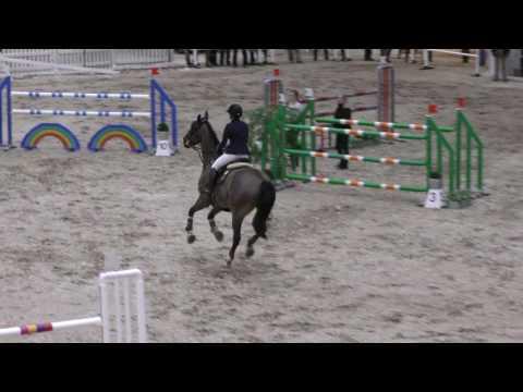 Merivirta Elena & Astro 130cm @ Helsinki Horse Fair 17.-19.3.2017