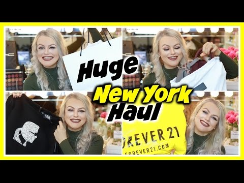 HUGE USA CLOTHING HAUL | Alexander Wang, Century 21 & More!!