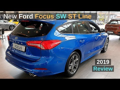 New Ford Focus Sw St Line Estate 2019 Review Interior Exterior Youtube