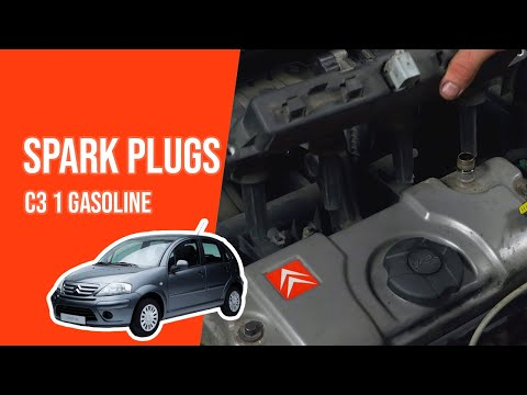 TUTORIAL GASOLINE CITROËN C3  How to replace the spark plugs
