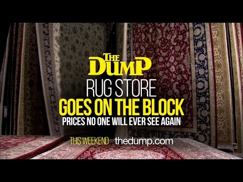 Market Crash Oriental Rugs At The Dump You