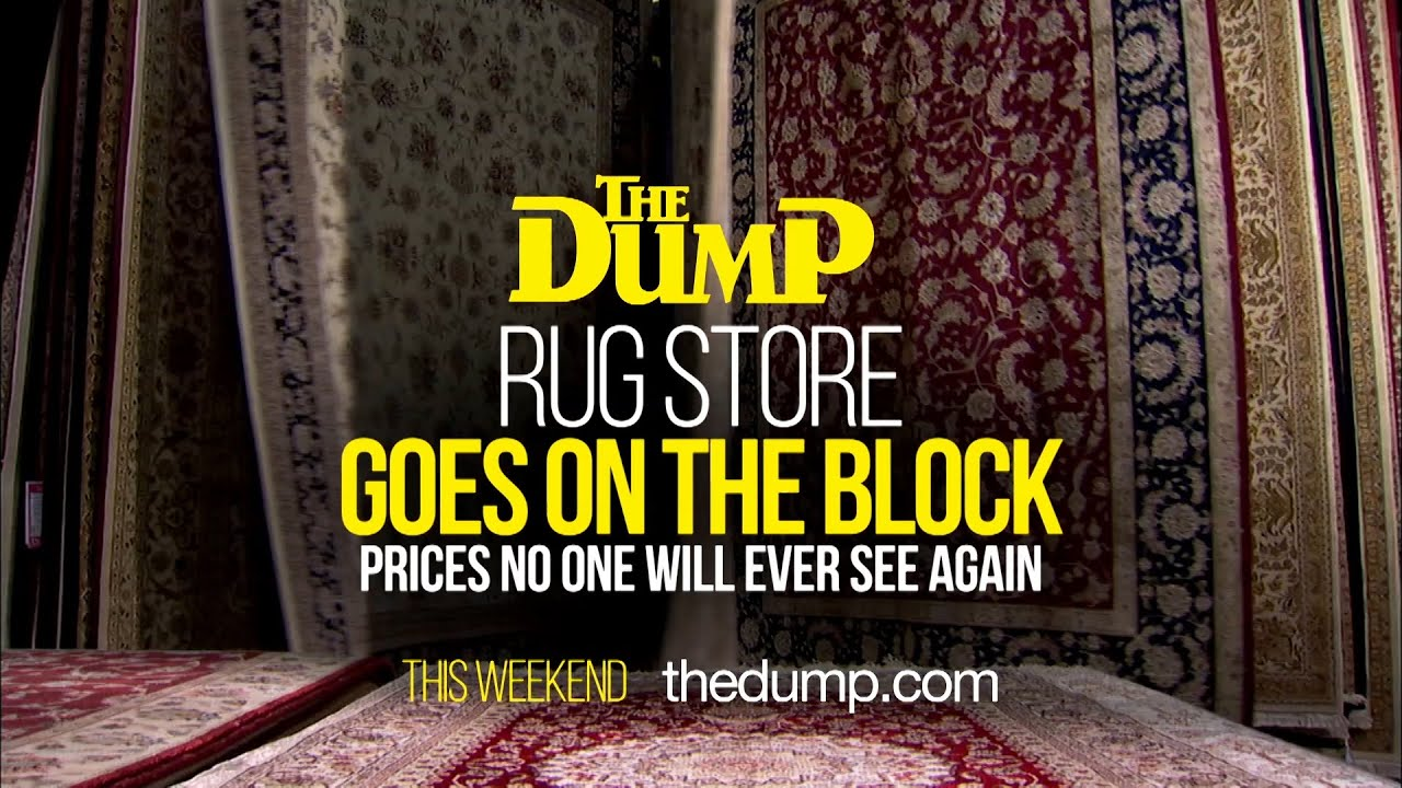 Market Crash Oriental Rugs At The Dump