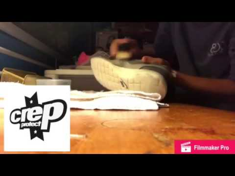 Using Crep Protect to clean Roshe Runs