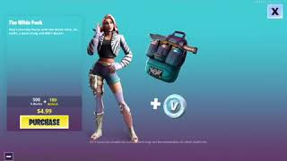 Buying the wide pack in fortnite:3