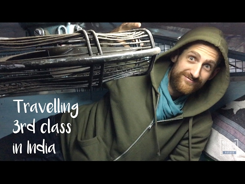 Travelling 3rd Class in India