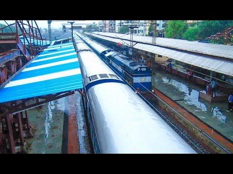 Vapi & LHB Chair car debut - Indian Railways