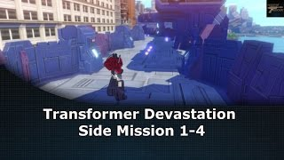 Transformers Devastation Side Mission 1-4