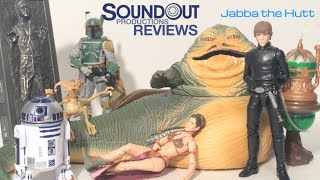 Star Wars Black Series - Sdcc 2014 Jabba's Throne Room Review [soundout's Toy Chest]