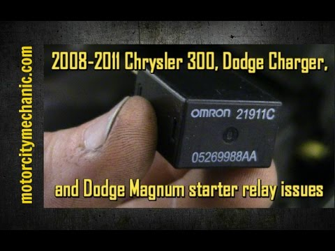 20082011 Chrysler 300 Dodge Charger and Dodge Magnum starter – Dodge Magnum Rear Fuse Diagram