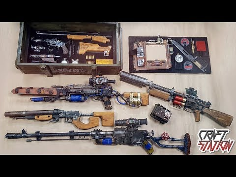 MY COLLECTION FROM METRO EXODUS AIRSOFT DIY