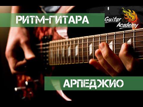 Необычные арпеджио на ритм гитаре