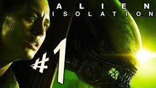 ALIEN ISOLATION - Parte 1: A CAÇADA COMEÇOU!!! [ PC - Playthrough ]