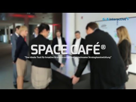 "G+B Interactive | ""SPACE CAFÉ®"" - Die neue digitale Workshop-Methode"