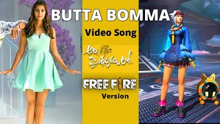 BUTTA BOMMA video Song   Free Fire Version telugu   Hello Telugu Gamers