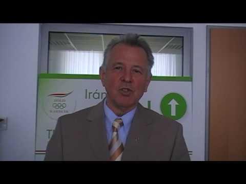 Schmitt Pál, a MOB elnöke a Samsung Olimpiai Zöld Fesztiválról