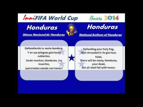 Honduras Anthem Translated - Himno Nacional de Honduras