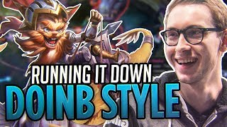 RUNNING IT DOWN DOINB STYLE - Bjergsen
