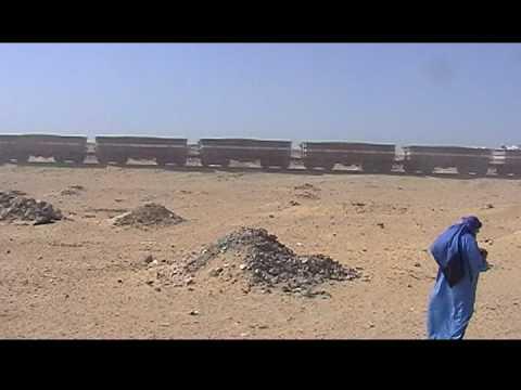 Mauritania train