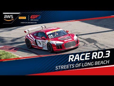 Round 3 - Long Beach - GT4 America - Live..