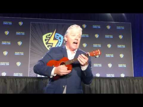 """Silicon Valley Comic Con SVCC 2017 Tom Wilson Sings """"The Questions Song"""""""
