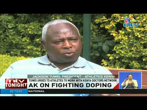 Athletics Kenya urges to athletes to work with kenya doctors network