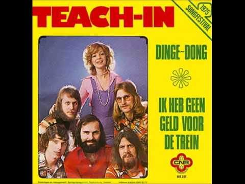 1975 Teach In - Dinge-Dong (Dutch Version)
