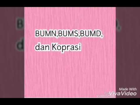 Bumn Bums Bumd Koperasi Youtube