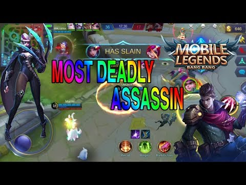 MOST DEADLY ASSASSIN NATALIA MOBILE LEGENDS