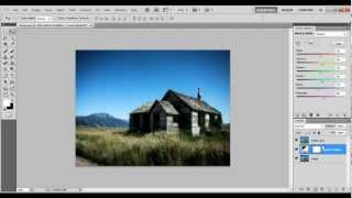 How to play with the colors of an image in Photoshop