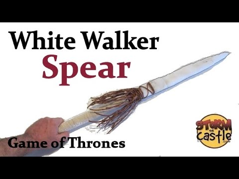 How to Make the White Walker Spear from Game of Thrones