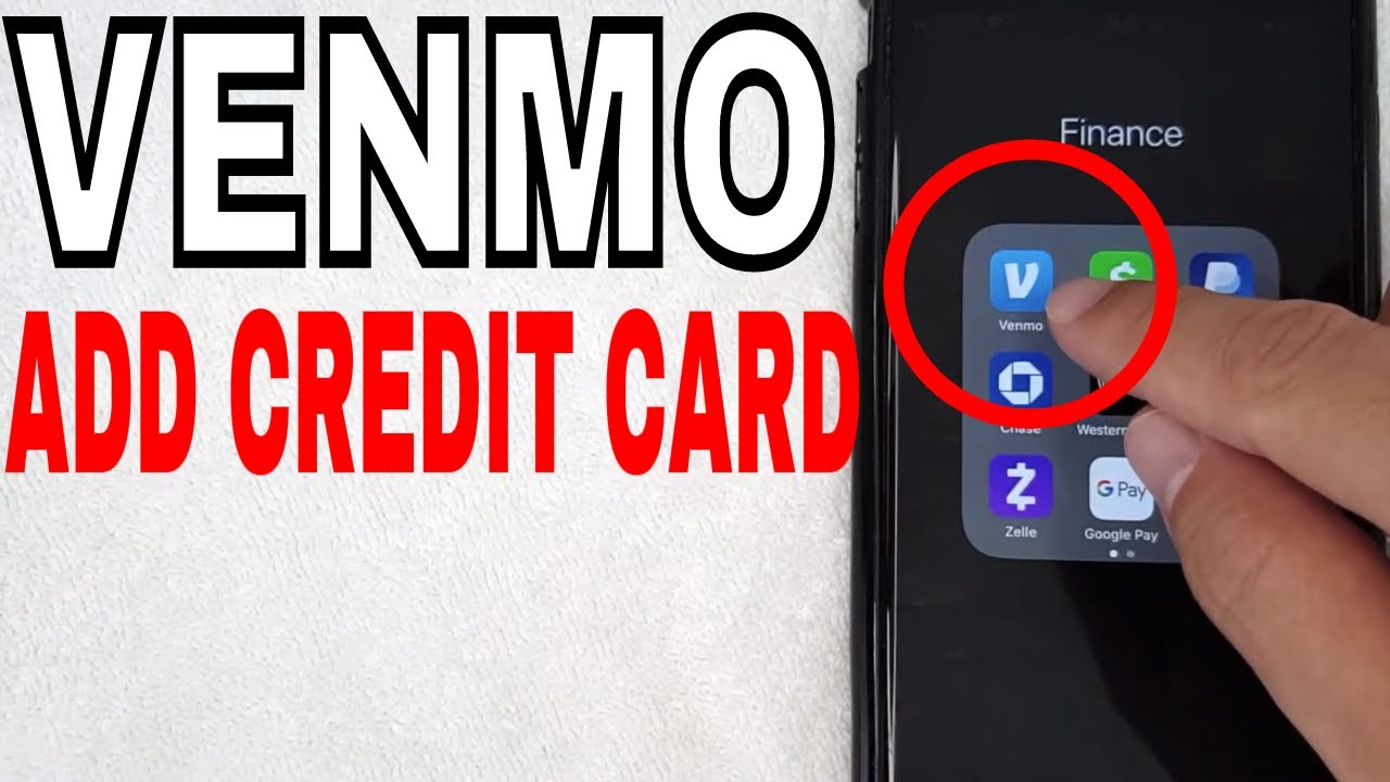 How To Add Credit Card To Venmo Account Youtube